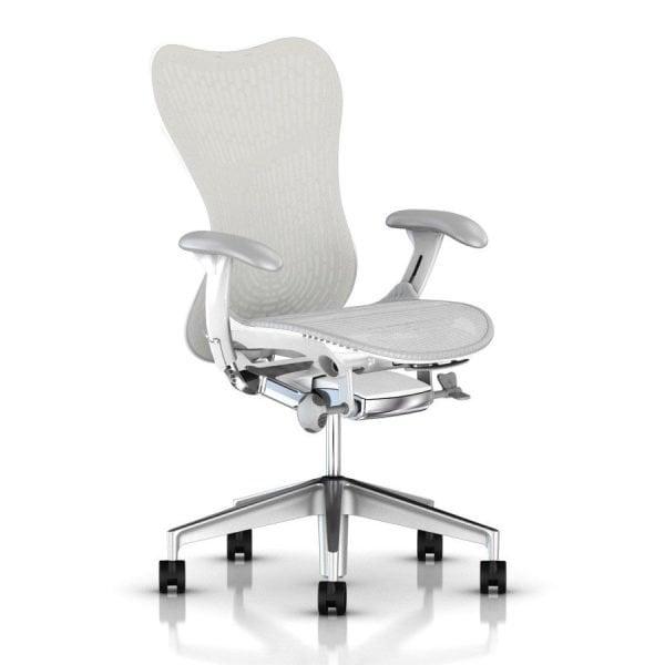 Herman Miller Mirra 2 Butterfly Chair Studio White