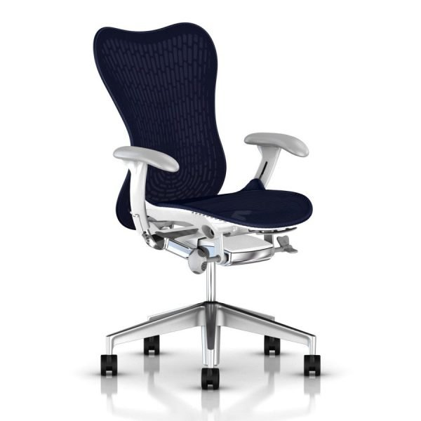 Herman Miller Mirra 2 Butterfly Chair Turquoise