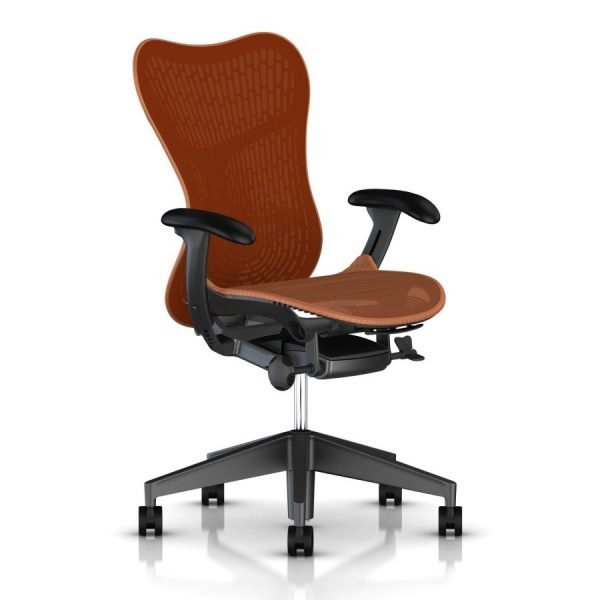Herman Miller Mirra 2 Butterfly Chair Urban Orange