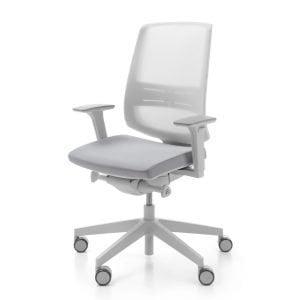 Profim Light Up Grey Executive Mesh Chair
