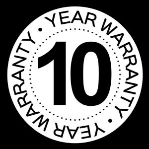 10 yr warranty