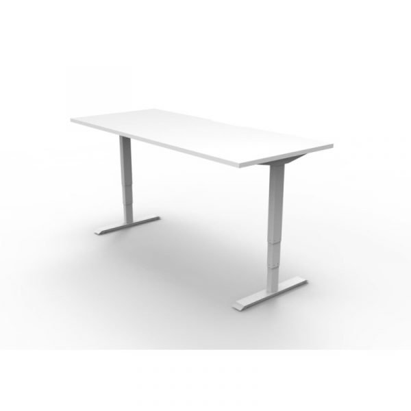 Boost Electric Height Adjustable Desk White