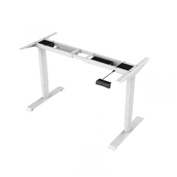Boost Electric Height Adjustable Frame White